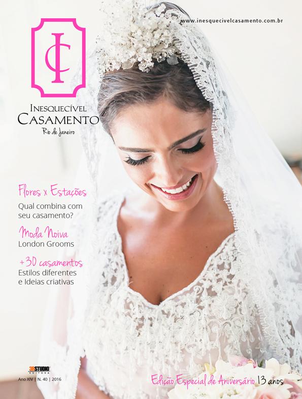 Inesquecível Casamento RJ – Ed. 40 + Encarte: Inesquecível Casamento Búzios Nº 4