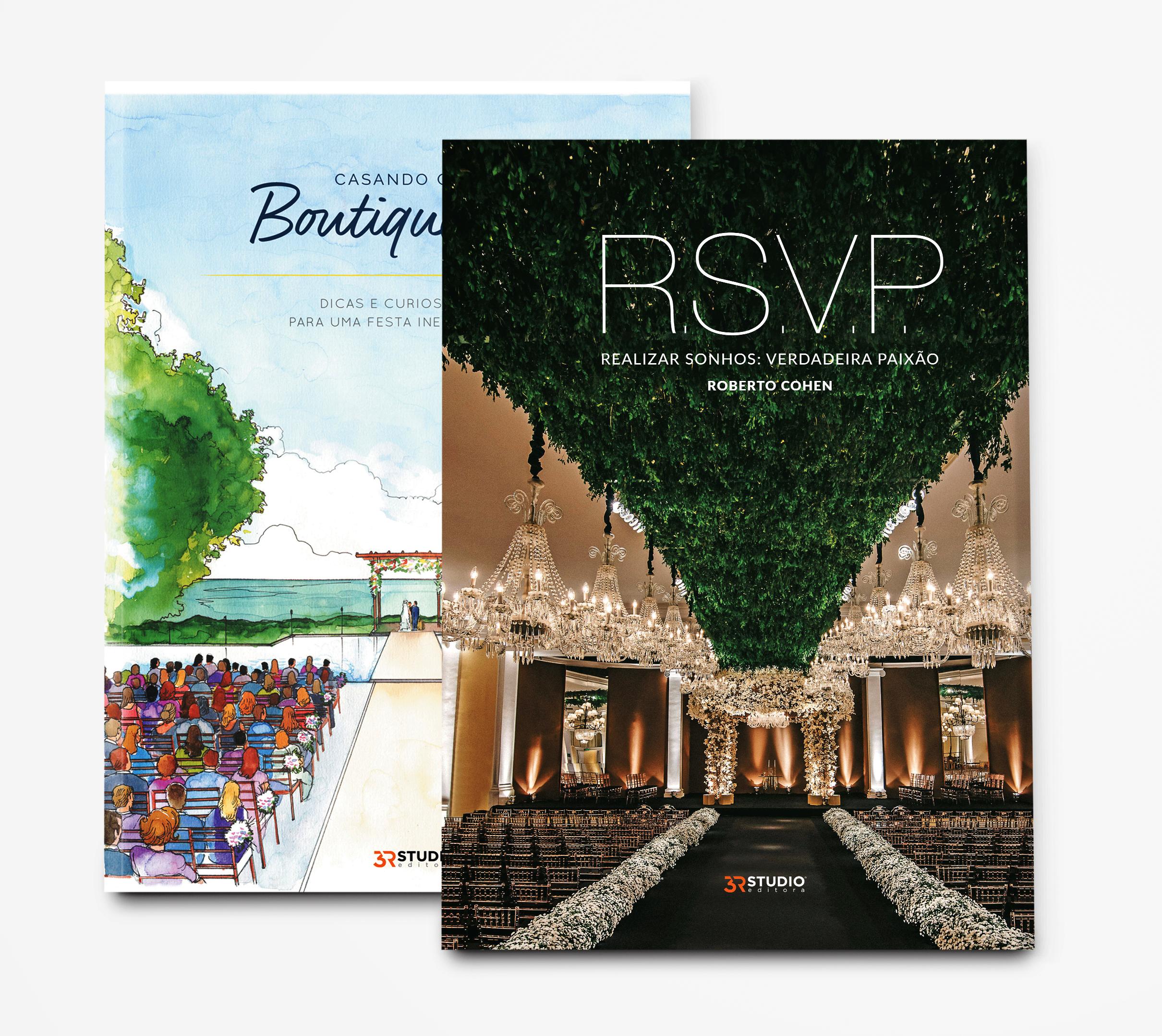 Combo: R.S.V.P. – Realizar Sonhos: Verdadeira Paixão 2ª Edição – Roberto Cohen + Casando Com Boutique De 3