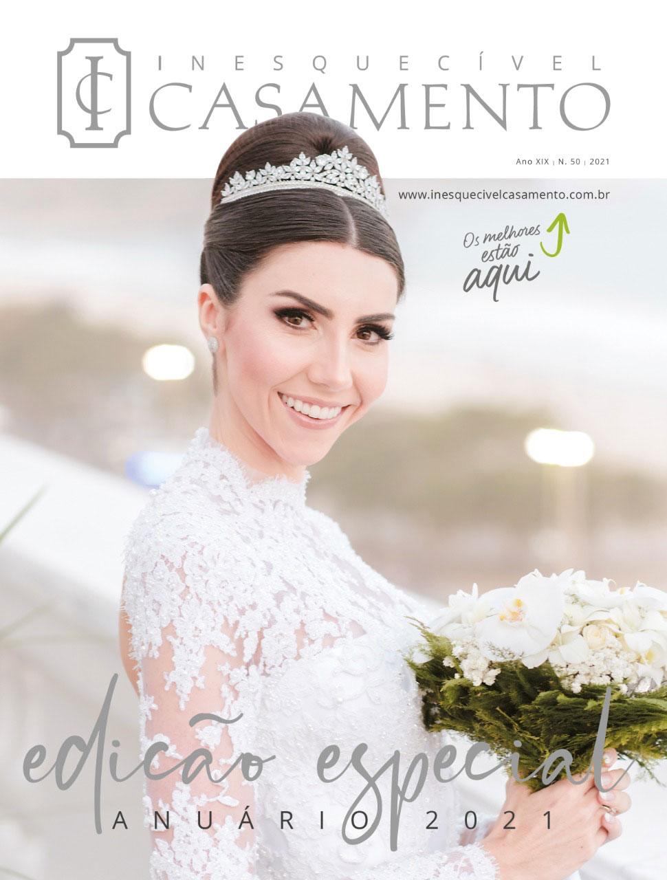 Inesquecível Casamento RJ – Ed. 50 – Edição Especial Anuário 2021